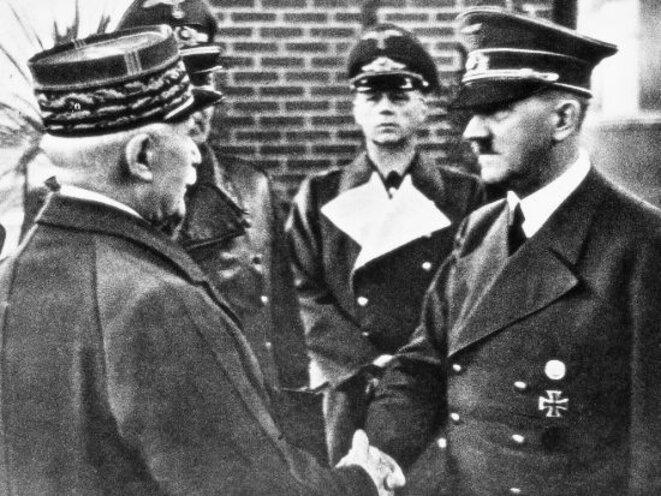 Entrevue Pétain - Hitler à Montoire-sur-le-Loir, le 24 octobre 1940