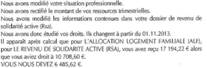Lettre Ouverte Au Directeur De La Cnaf Pch Et Rsa Le Club De