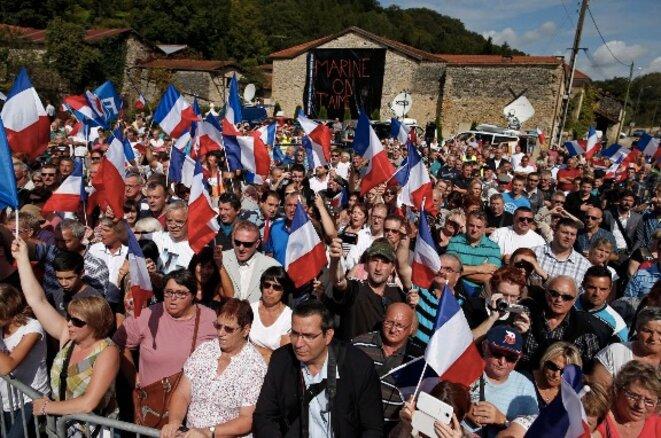 Le village de Brachay (Haute-Marne), où Marine Le Pen fait chaque année sa rentrée. © Reuters