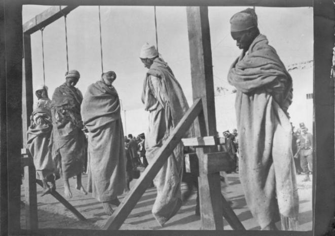 Tripoli, 6 décembre 1911 © Collection Martine Chérau