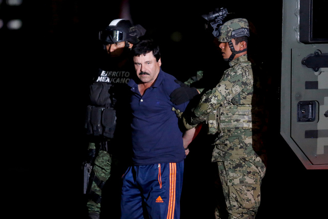Joaquin 'El Chapo' Guzman on 28 May 2016, in Mexico. © Reuters