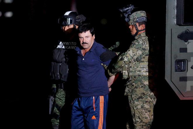 """Joaquín """"El Chapo"""" Guzmán, el 28 de mayo de 2016, en Ciudad de México. © Reuters"""