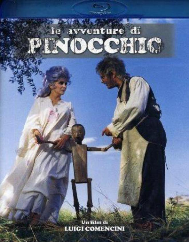 PINOCCHIO, 1975 (2h 15min) De Luigi Comencini Avec Andrea Balestri, Nino Manfredi, Gina Lollobrigida ...