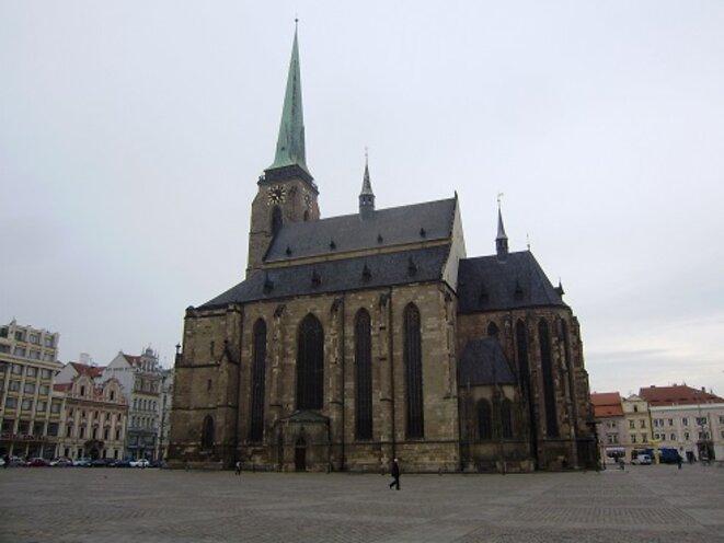 La Cathédrale (sur la place centrale) © VD