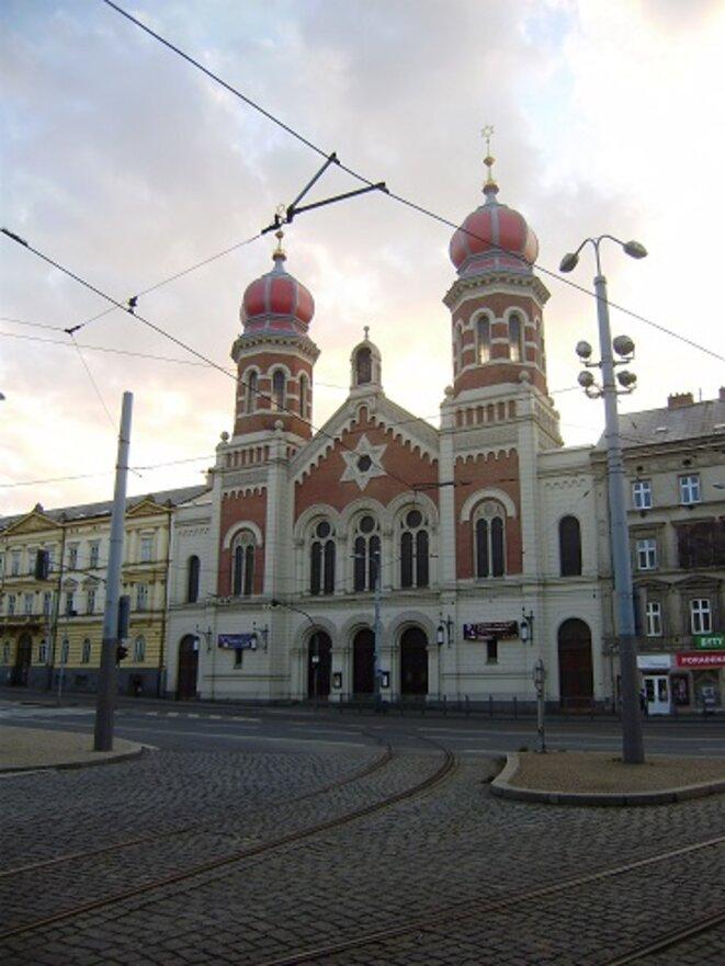 La Grande Synagogue (l'une des plus grandes d'Europe centrale) © VD