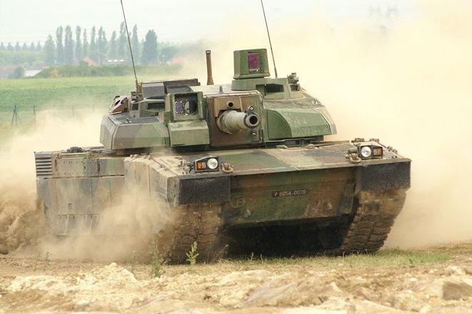Un tanque Leclerc. © Wikipédia