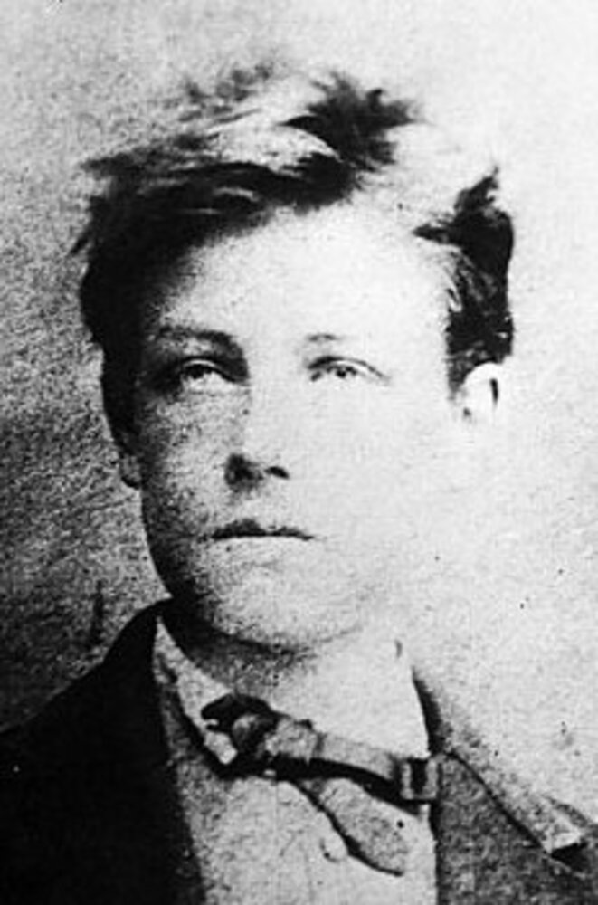Arthur Rimbaud, jeune.  DR