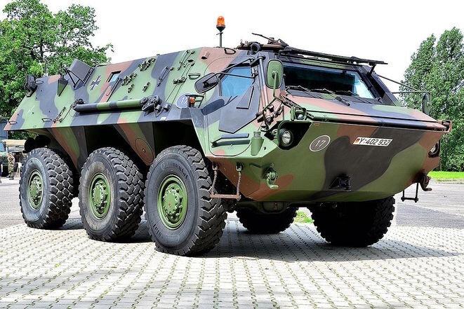 Un blindado « Fuchs ». © Wikipédia