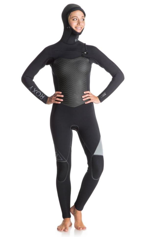 Figure 6. Cette fois, c'est bien un burkini ? Non : une tenue de surf féminine commercialisée par la firme Roxy. (DR)
