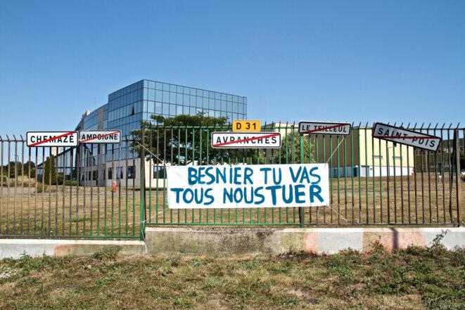 Le siège social de Lactalis, à Laval © Laurent Geslin