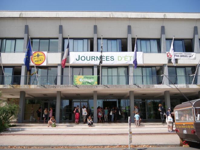 Façade du Palais des Congrès de Lorient. © Guillaume Krempp