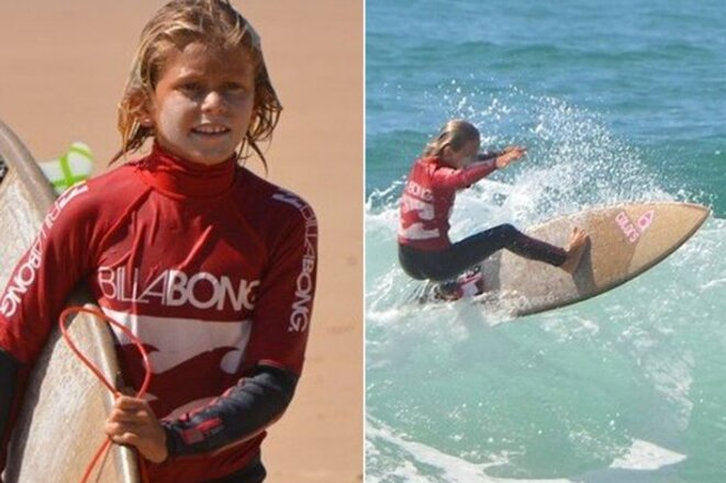 Elio Canestri, tué le 12 avril 2015 à l'âge de 13 ans à Boucan Canot par un requin bouledogue © NR