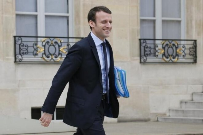 Hollande protégé turned potential election rival: Emmanuel Macron, pictured here in March 2016. © Reuters