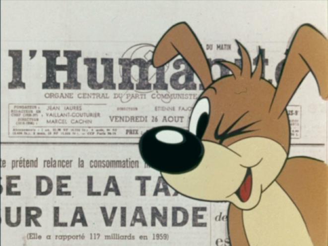 Pif Reporter - Julien Pappé, 1960. Coll. Ciné-Archives