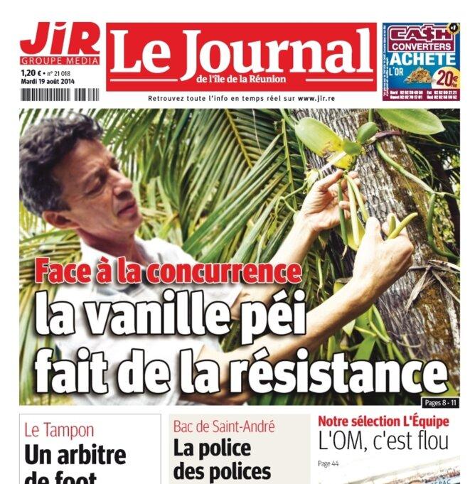 JIR © Journal de l'Ile de la Réunion