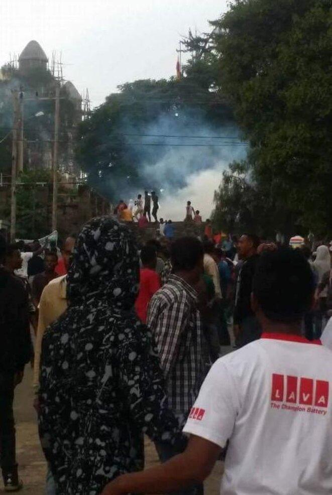 Manifestations à Gondar
