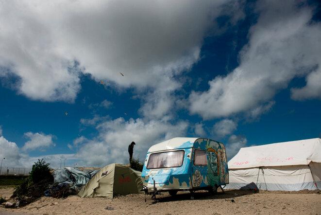 Calais, été 2016. © Bertrand Gaudillère / Item