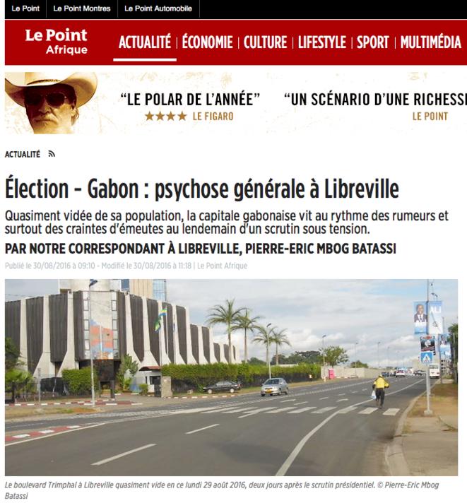 Article Gabon 24 © Gabon 24 - PIERRE-ERIC MBOG BATASSI