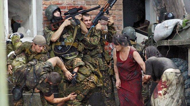 Massacre de Beslan © Russian calls