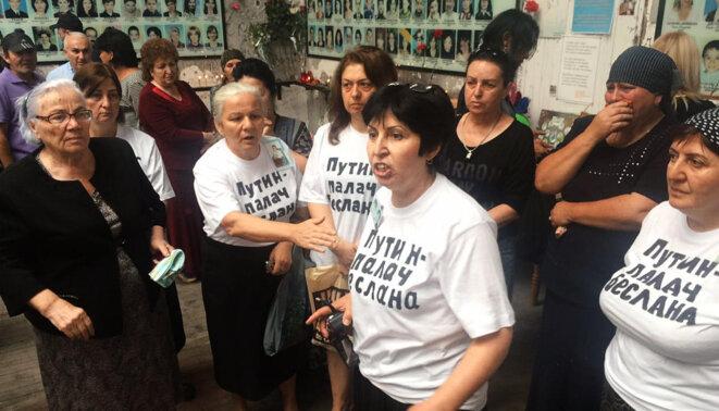 Mères de Beslan © Méduza