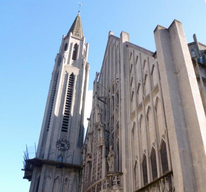 Façade ouest de l'église Saint-Nicaise © BRL