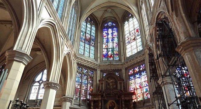 Choeur de l'église Saint-Nicaise © Nuit Debout Rouen