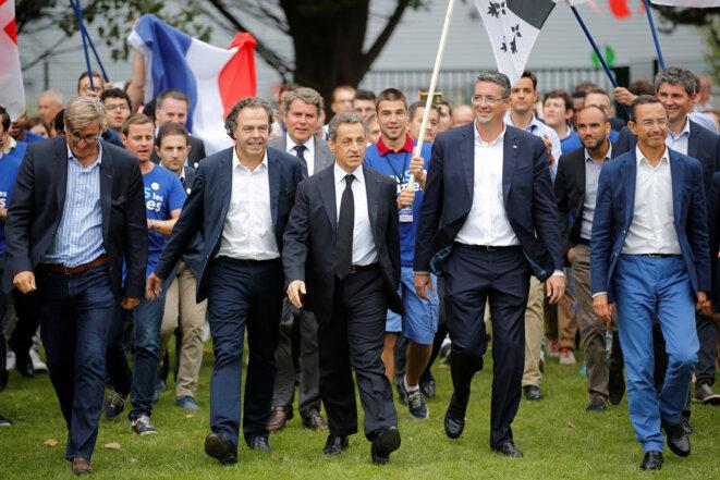 Au campus LR de La Baule, le 4 septembre © Reuters