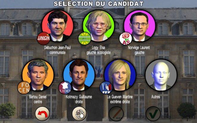Un jeu vidéo commercial inspiré de la campagne de 2012.