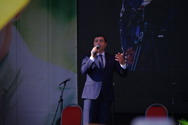 Selahattin Demirtaş, co-président du HDP, principale formation politique de gauche et pro-kurde de Turquie, a dénoncé les deux coups d'Etat : celui des militaires et celui d'Erdoğan, contre la démocratie. Le HDP est à ce jour le seul à dénoncer les purges d'Erdogan, les autres partis parlementaires accompagnant de fait l'état d'urgence.
