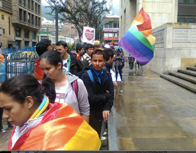 "Manif pro mariage ""gay"", Bogota 2015 © Olga L Gonzalez"