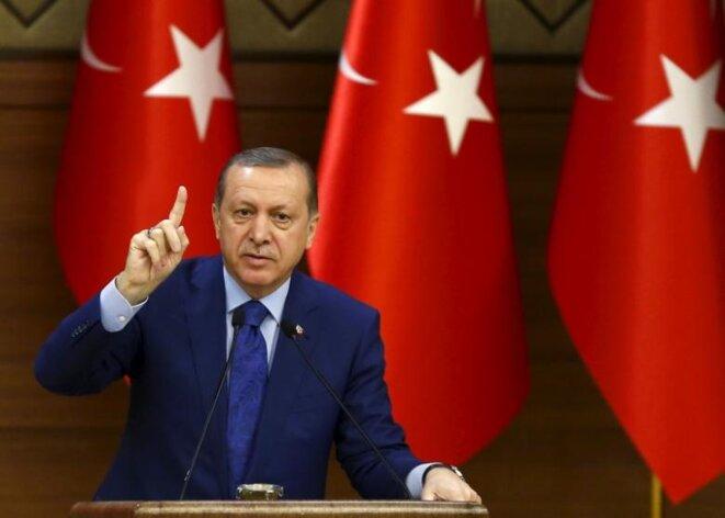 Erdogan appelle, le 1er septembre 2016, à « accélérer » le nettoyage de l'administration. © Reuters