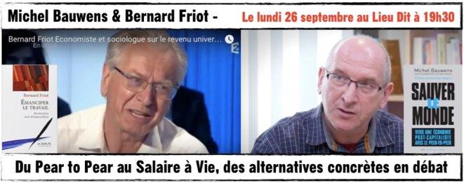 Michel Bauwens et Bernard Friot