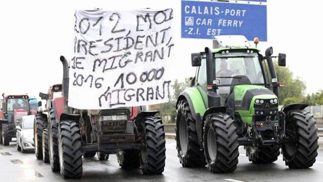 À Calais le 5 septembre © Reuters