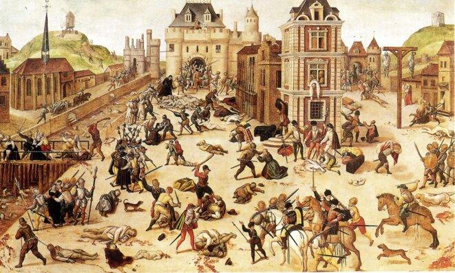 Le massacre de la saint Barthélemy © François Dubois