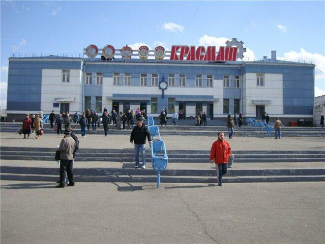 L'usine Krasmach qui fabrique des missiles de croisière a conservé ses décorations soviétiques © site Krasmach