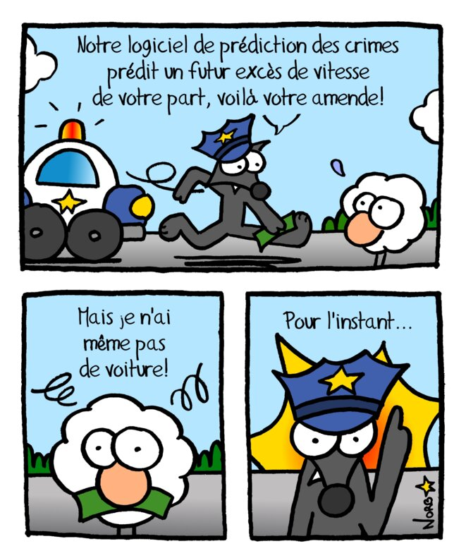 Police prédictive: gare aux radars! © Norb