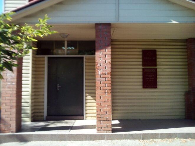 Le poste de police où j'ai passé 5 heures