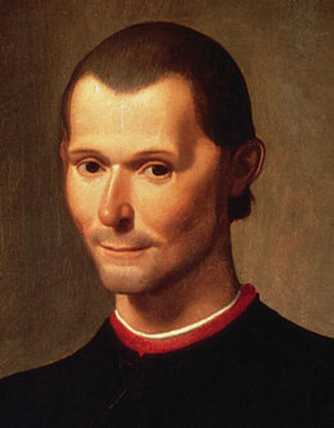 Portrait posthume de Nicolas Machiavel