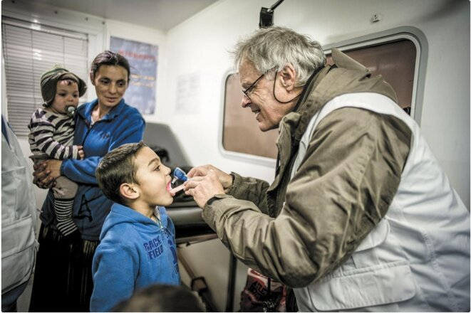 Photo Olivier Papegnies, Secours Populaire.