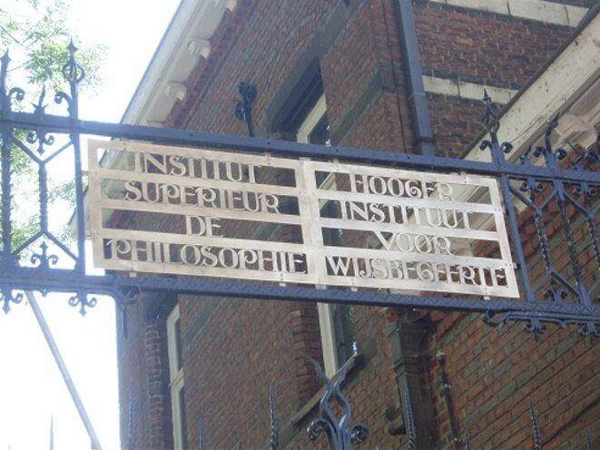 A Louvain, une tradition de multilinguisme en régression. © VD