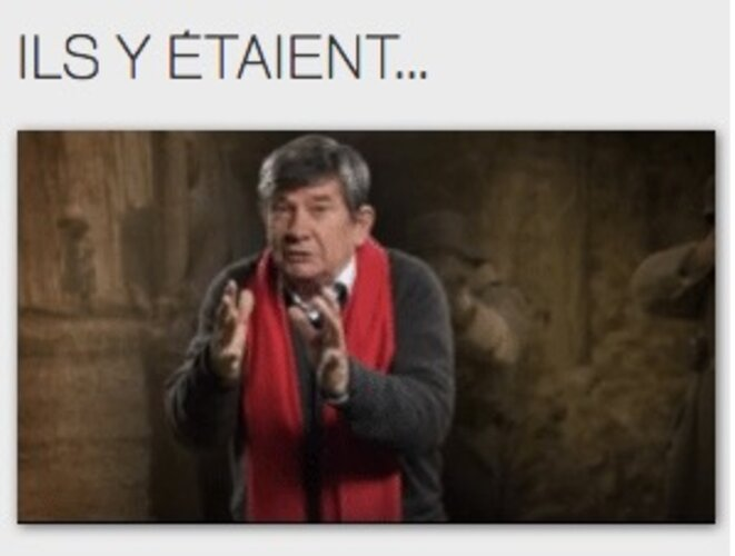 L'historien Jean-Pierre Azéma et son éternelle écharpe (plagiée plus tard par le folliculaire Christophe Barbier)...
