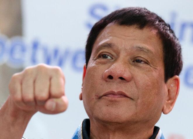 Rodrigo Duterte, au pouvoir depuis le 30 juin. © Reuters