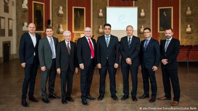 Les huit scientifiques qui ont été sélectionnés pour le Prix allemand de l'avenir © http://www.deutscher-zukunftspreis.de