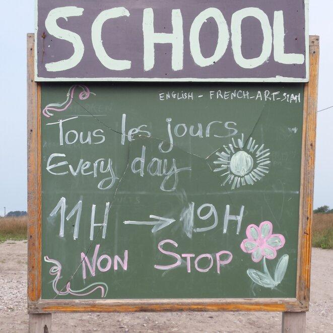 Ecole du Chemin des Dunes, septembre 2016.