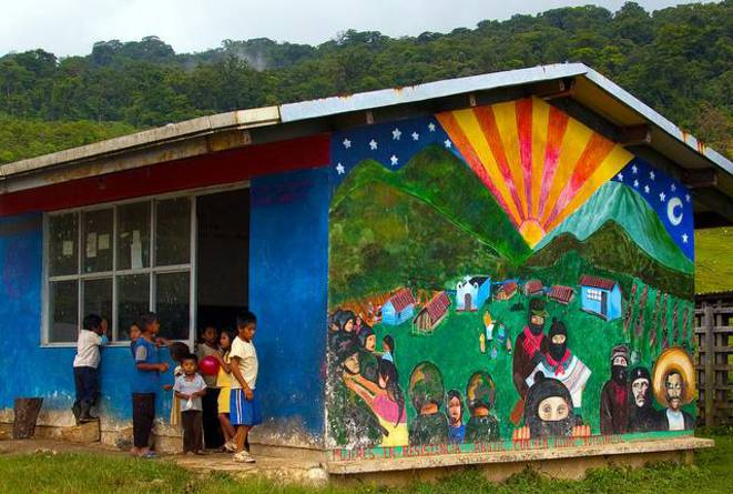 Ecole zapatiste © Visual Research
