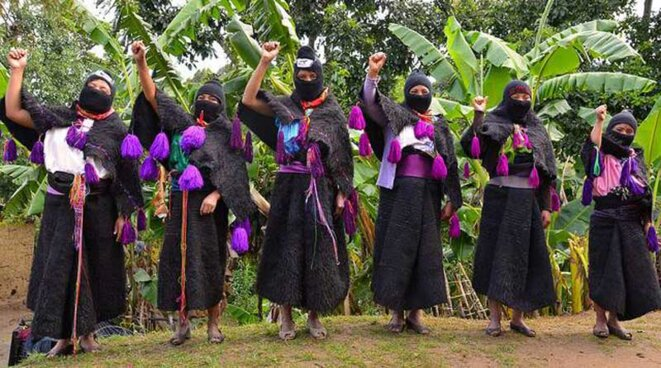 Femmes zapatistes © Visual Research