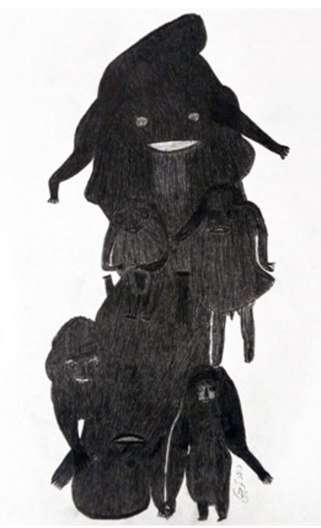 D. Koochaki, 100 x 70, sans titre © TDR