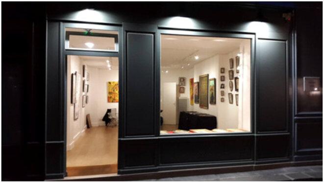 L'espace d'exposition dans le Marais, 4 rue des Guillemites - Paris. © Espace Maxime D.
