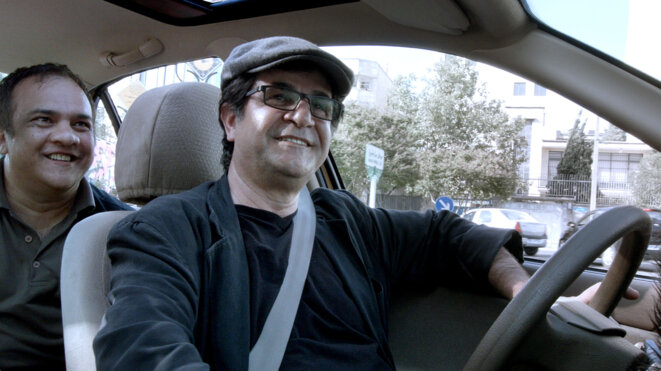 """""""Taxi Téhéran"""" de Jafar Panahi © Memento"""