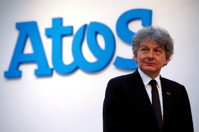 L'ancien ministre Thierry Breton, le 13 avril 2016, aujourd'hui PDG du géant Atos. © Reuters